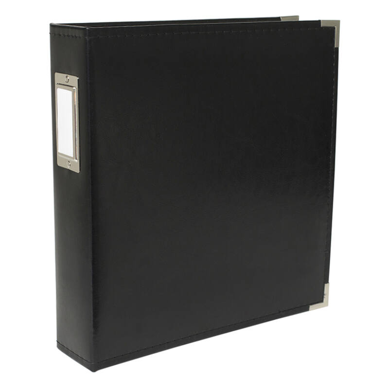 We R Memory Keepers 8.5x11 Classic Leather Album - Black