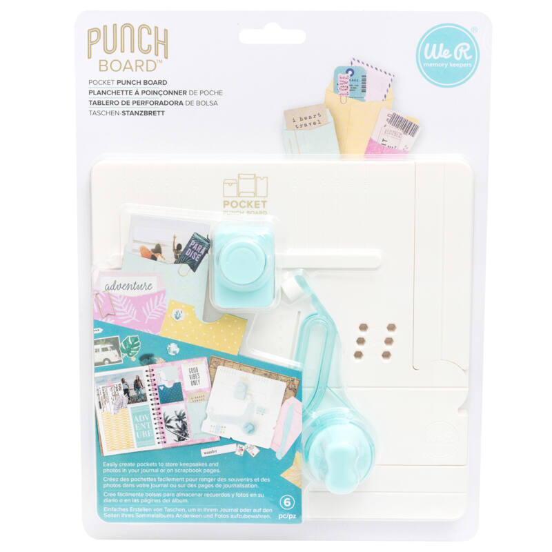 We R Memory Keepers - Pocket Punch Board