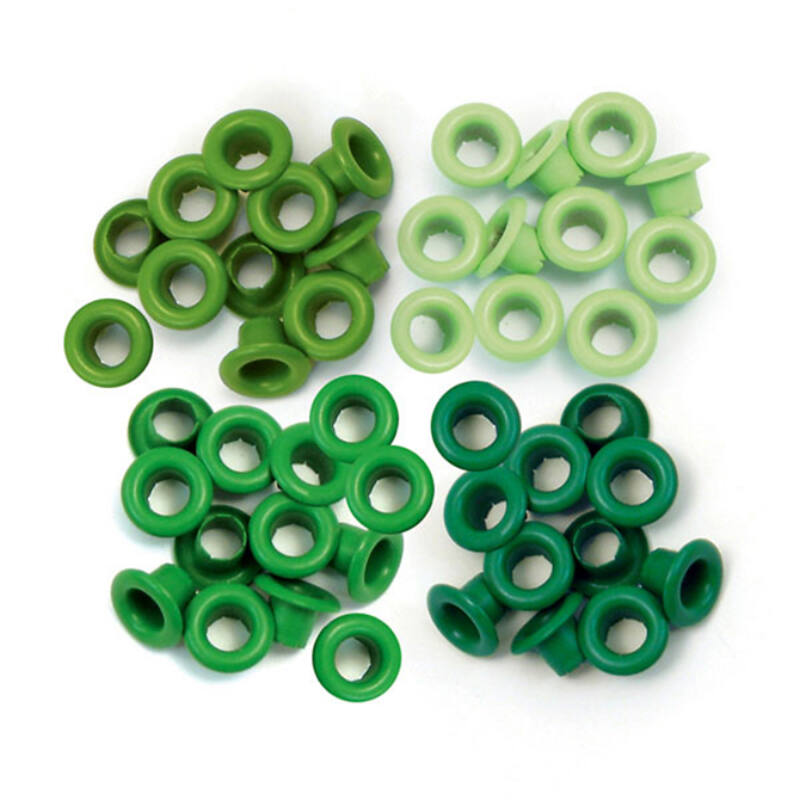 We R Memory Keepers Standard Eyelets - Green