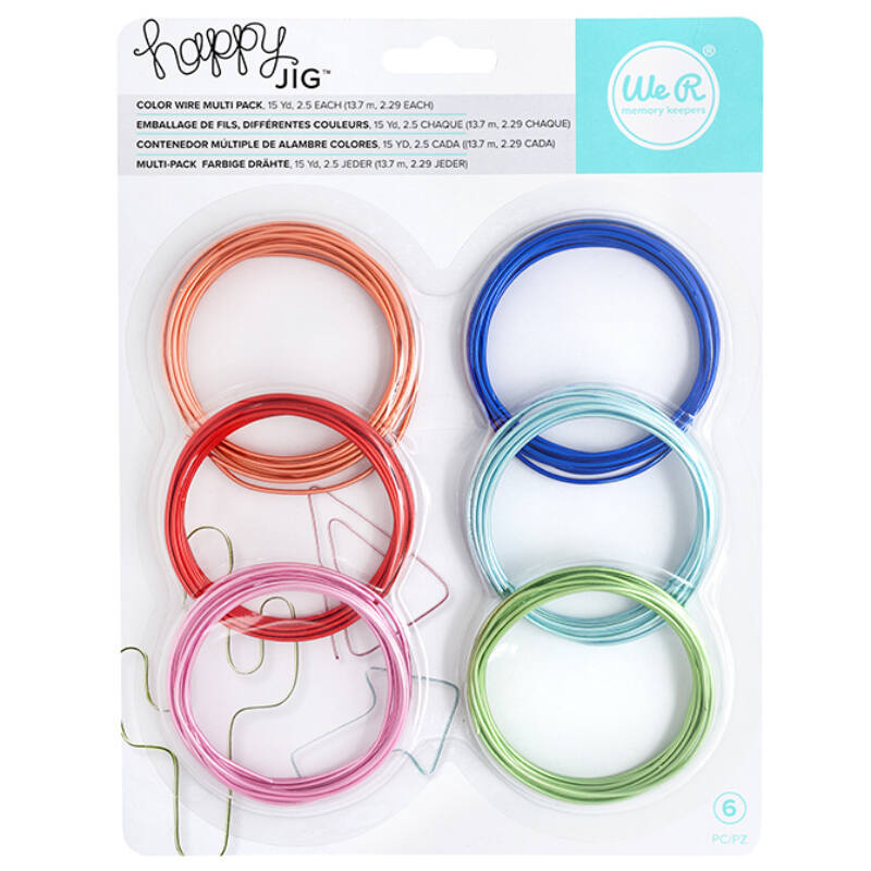 We R Memory Keepers Happy Jig Color Wire 6x5.5m - Colored Pack
