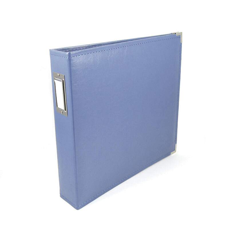We R Memory Keepers 12x12 Classic Leather Album - Country Blue