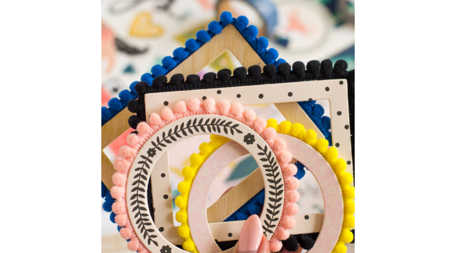 Tiny cute things | Crate Paper - Maggie Holmes - Willow Lane Pom Pom ...